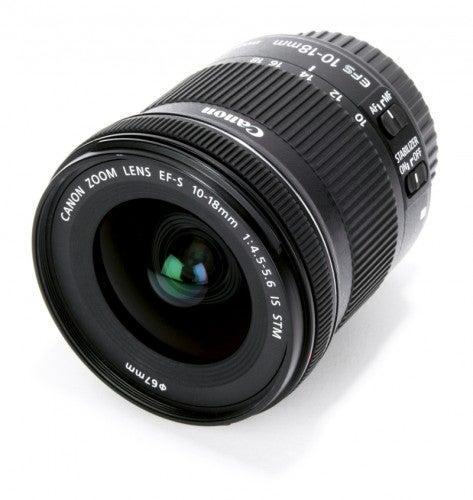 Kết quả hình ảnh cho Canon EF-S 10-18mm f/4.5-5.6 IS STM