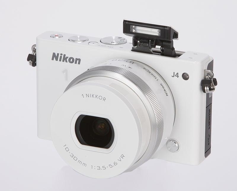 Nikon 1 J4 Review - front angled 2