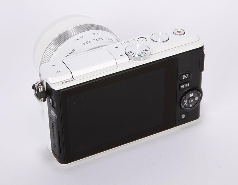 Nikon 1 J4 Review - top rear