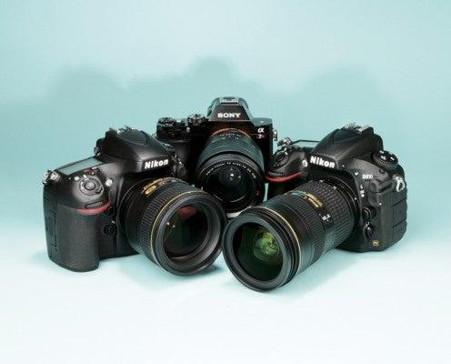 Nikon D810 Nikon D800E Sony Alpha 7R