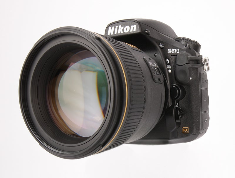 Nikon D810 Review - front angled
