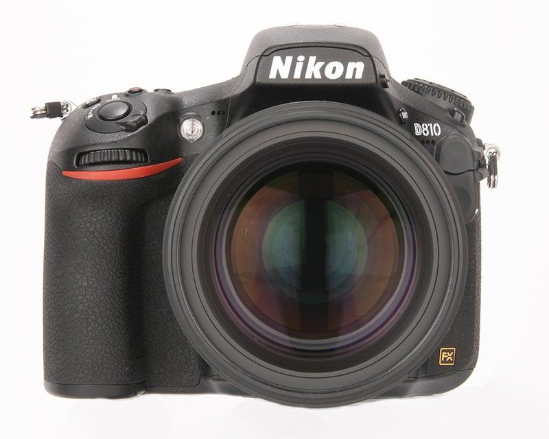 Nikon D810 Review - front view