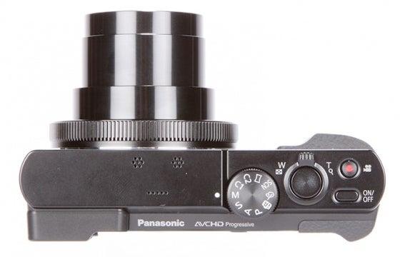 Compact camera controls