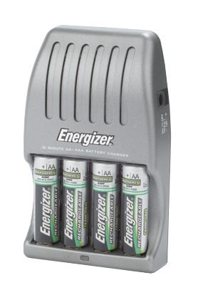 Energiser 15-minute charger