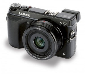 Panasonic Lumix DMC-GX7 front