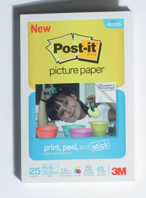Post-It Picture Paper