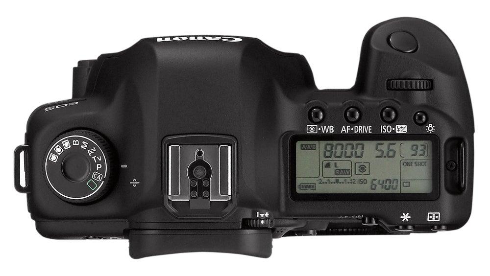 Canon-EOS-5D-Mark-II-top