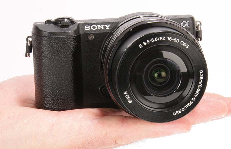 Sony Alpha 5100 product shot - in hand