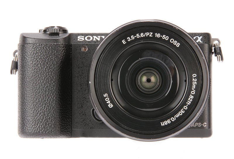 Sony Alpha 5100 product shot, front