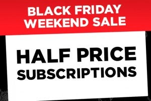 Black Friday subscription thumbnail