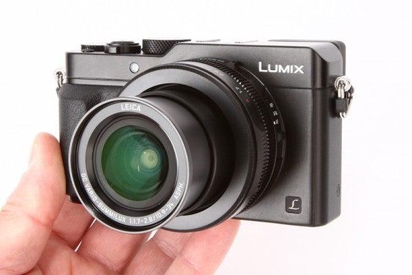 Panasonic Lumix LX100 Review - hand held