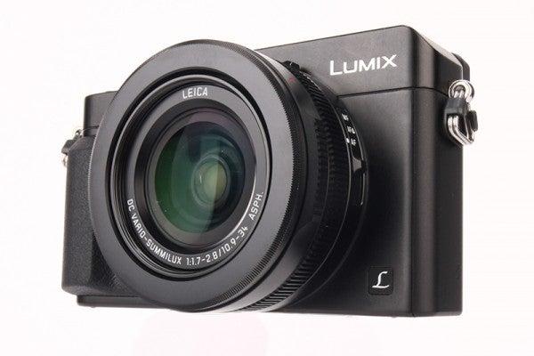 Panasonic Lumix LX100 Review - front angled
