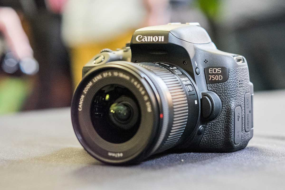 Canon EOS 750D Review – Hands-on First Look - What Digital ...