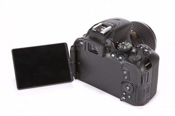 Nikon D5500 Review - rear angled