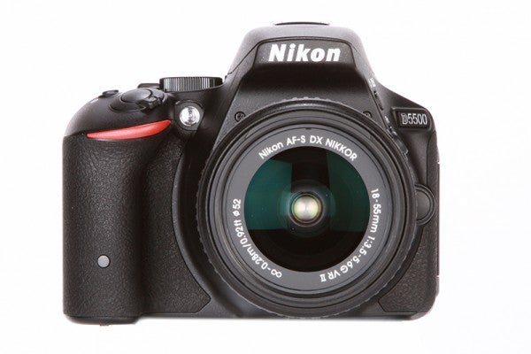 Nikon D5500 Review - front on