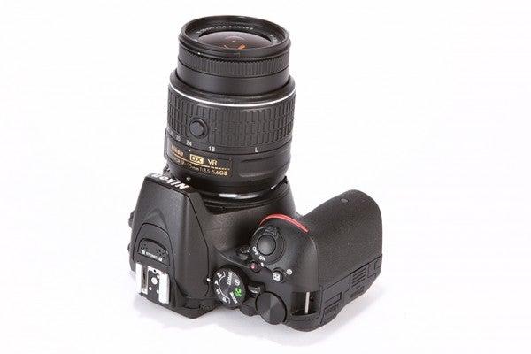 Nikon D5500 Review - top down