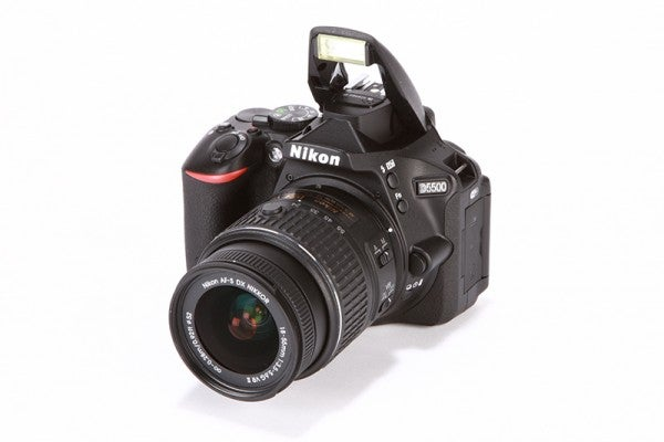 Nikon D5500 Review - Front angled