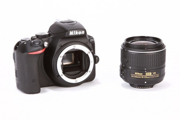 Nikon D5500 Review - Lens unattached