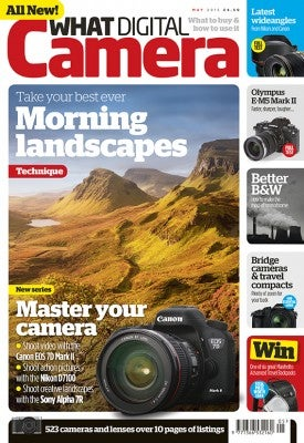 What Digital Camera - May Cover