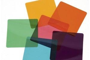 coloured gels