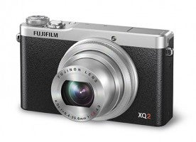 Fujifilm XQ2_Silver_Front_Left_Wide
