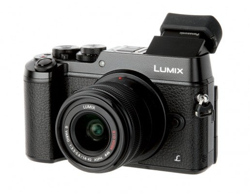 Panasonic Lumix GX8 hands on front view