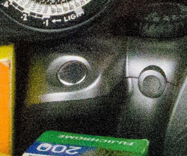 Pentax K-3 II noise – ISO 25,600