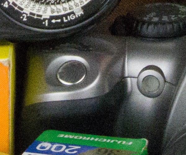Pentax K-3 II noise – ISO 6400