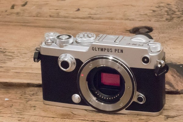 The PEN-F is the first Olympus camera with a 20-million-pixel Four Thirds sensor
