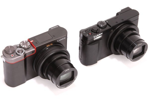 Panasonic TZ100 vs TZ70
