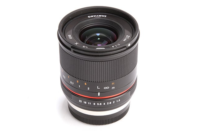 Samyang 21mm f/1.4