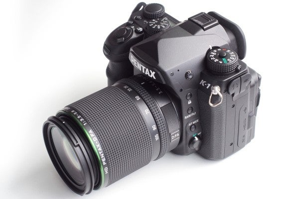 The K-1 has more external buttons and dials than almost any other camera