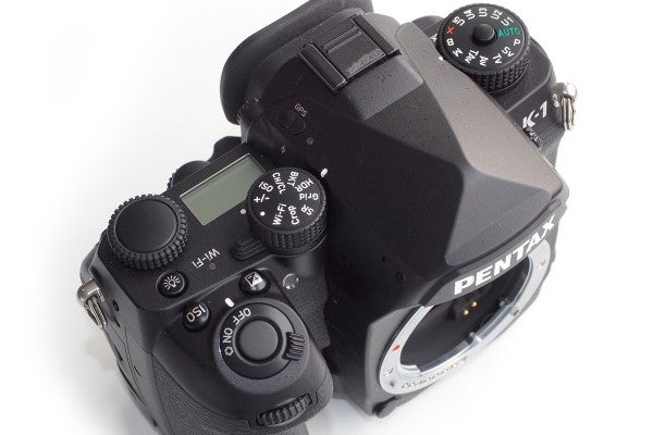 The top plate has a couple more dials than most cameras