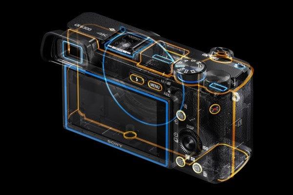 Sony A6300 dust and moisture waterproof sealing