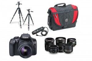 Beginners photography kit-list