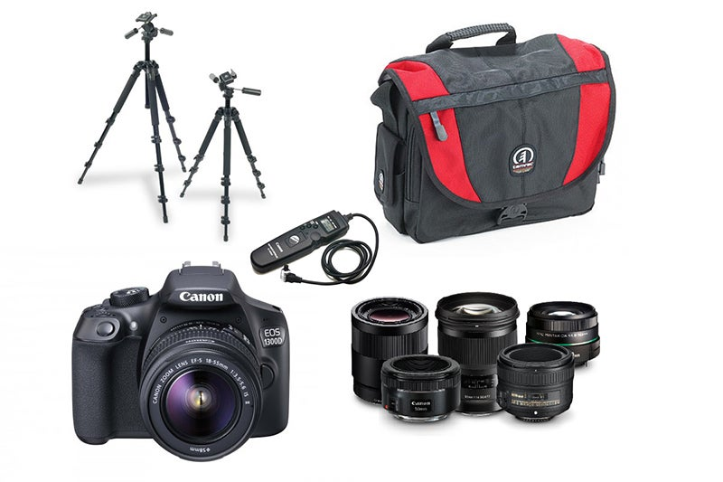 Beginner's photography kit list