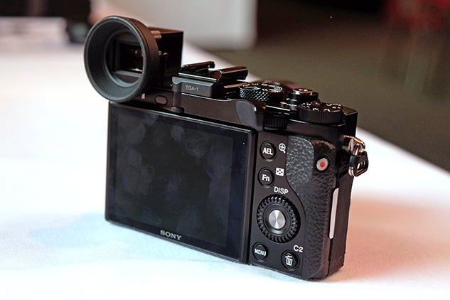 Sony RX1R II - Back right
