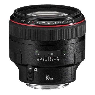 Studio photography kit list - lenses: Canon-EF-85mm-f_1.2L-II-USM