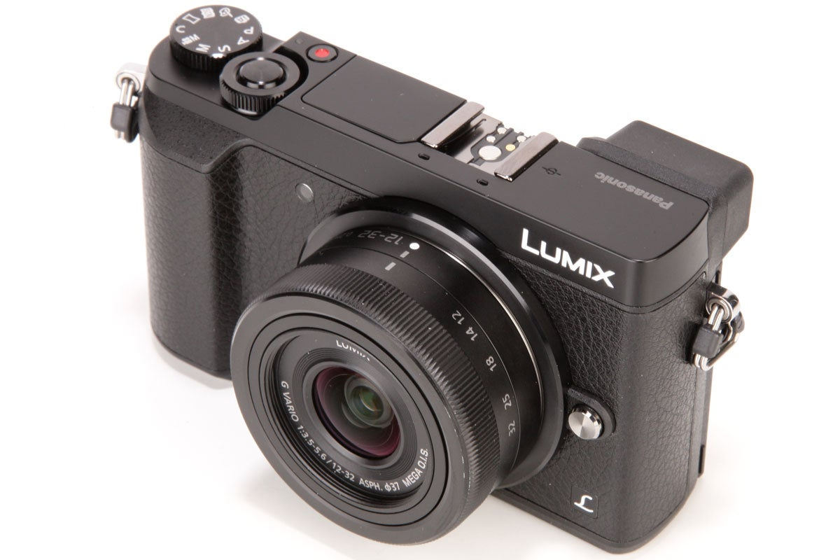 Panasonic's 12-32mm (24-64mm equivalent) kit zoom retracts to a very compact size