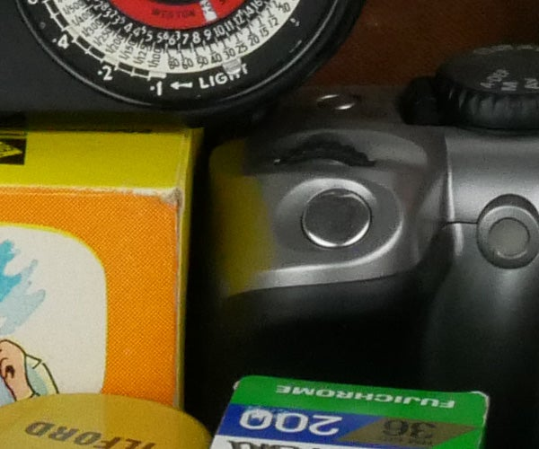 Panasonic GX80 ISO 1600