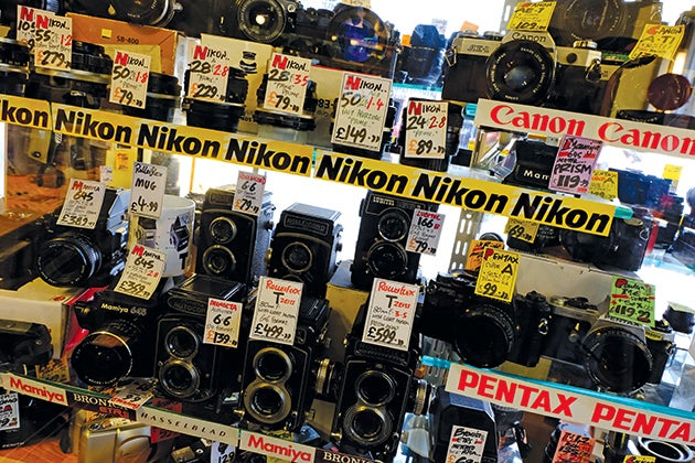 Grab A Bargain Straight Away At A Second Hand Camera Shop