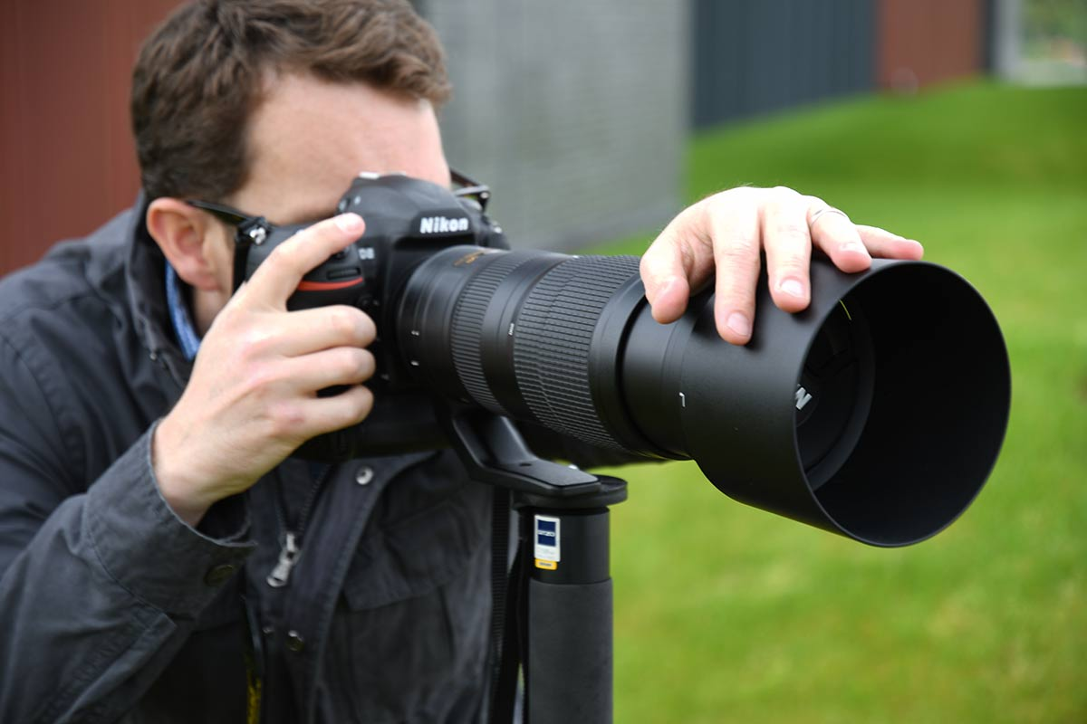 Despite its size, the 200-500mm is still relatively easy to use, whether handheld or with a camera support