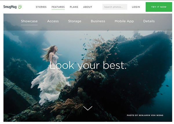 Best website hosts for photography websites