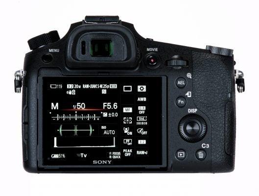 Sony Cyber-shot RX10 III back