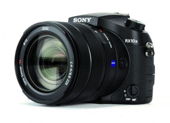 Sony Cyber-shot RX10 III side on