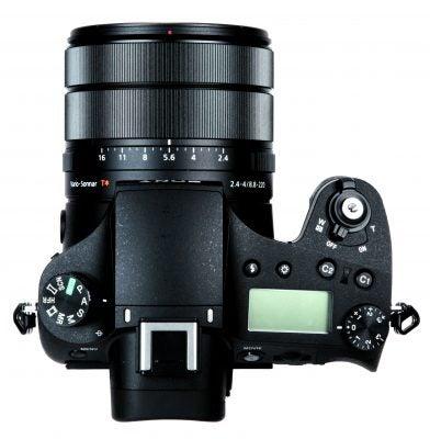 Sony Cyber-shot RX10 III top