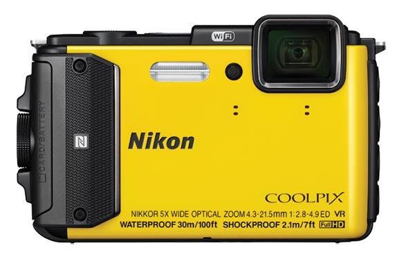 Waterproof digital Cameras :The Nikon AW130