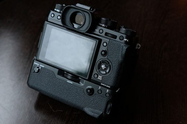 Adding the vertical grip increases the X-T2's performance in several ways