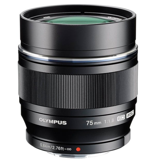 Olympus's M.Zuiko Digital ED 75mm f/1.8 is one of its sharpest Micro Four Thirds lenses