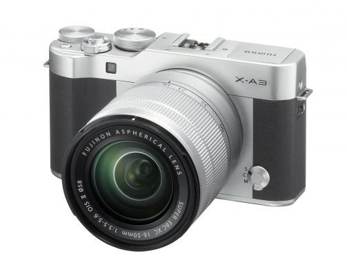 Fuji X-A3 Silver
